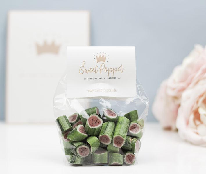 Sweet Poppet Wassermelonen-Bonbons in Tüte, handgemacht