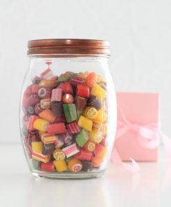 Sweet Poppet Bunte Bonbon-Mischung Signature-Mix im Bonbonglas