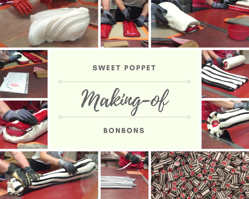 Herstellung Sweet Poppet Bonbons