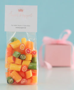 Citrusbonbons-Mix von Sweet Poppet