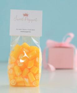 Zuckerfreie Zitronenbonbons von Sweet Poppet