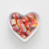 Bonbons Einhorn-Motiv von Sweet Poppet in Herzschale
