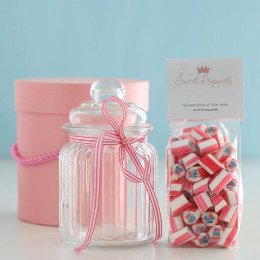 Geschenkset Lovelee mit I-love-you-Bonbons von Sweet Poppet