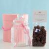 Geschenkset Creamy Choco Shocker mit Schoko-Sahne-Bonbons und Bonbonglas von Sweet Poppet