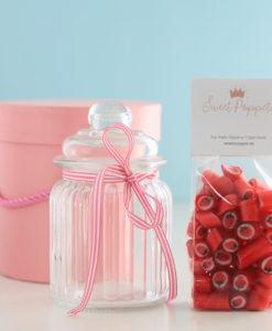 Geschenkset A Summer Highlight mit Erdbeer-Bonbons von Sweet Poppet
