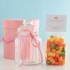 Geschenkset mit Citrus-Bonbons von Sweet Poppet plus Bonbon-Glas