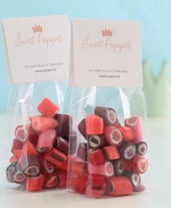 Rote Früchte-Bonbons-Mischung von Sweet Poppet Doppelpack