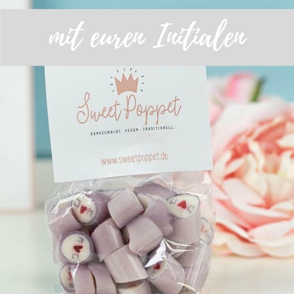 Sweet Poppet Bonbons mit euren Initialen