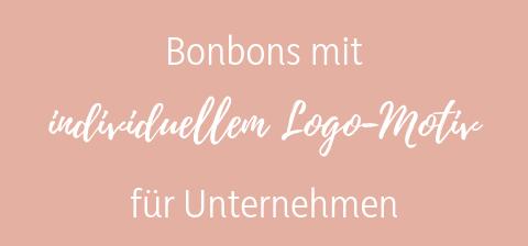 Sweet Poppet Logo-Bonbons für Unternehmen