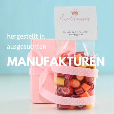 Sweet Poppet Bonbons hergestellt in ausgesuchten Manufakturen