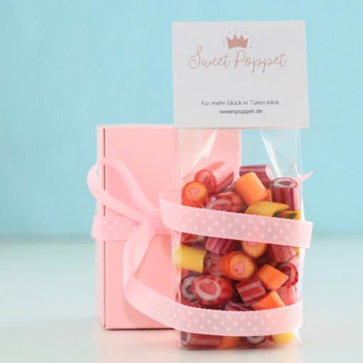 Sweet Poppet Herz-Bonbons-Mischung Lifestyle-Bild