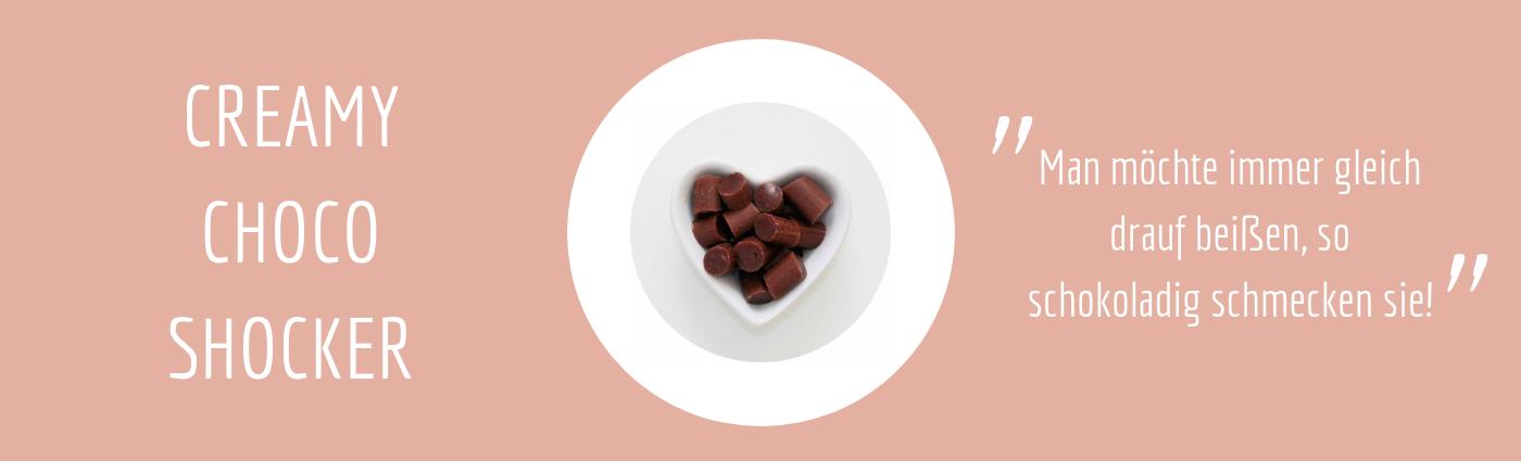 Sweet Poppet Schoko-Sahne-Bonbons Geschmack