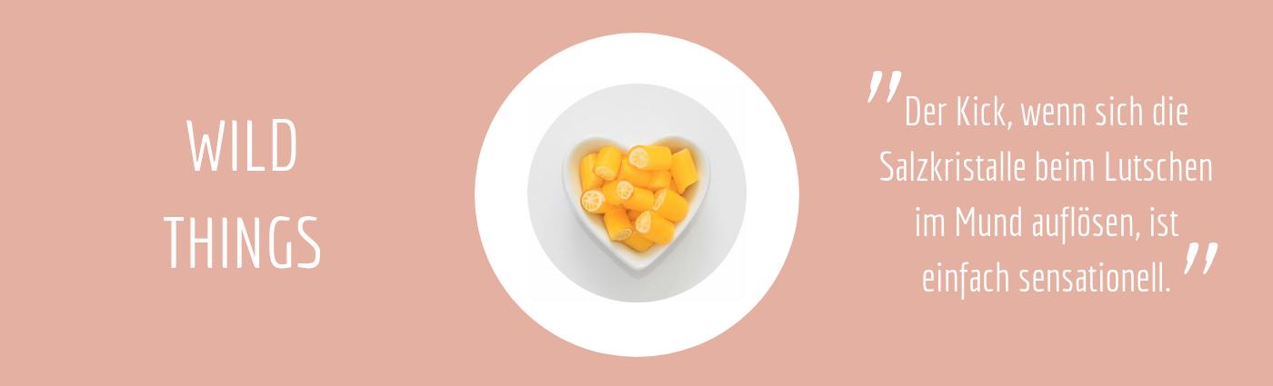 Sweet Poppet Salz-Zitronen-Bonbons Geschmacksbeschreibung