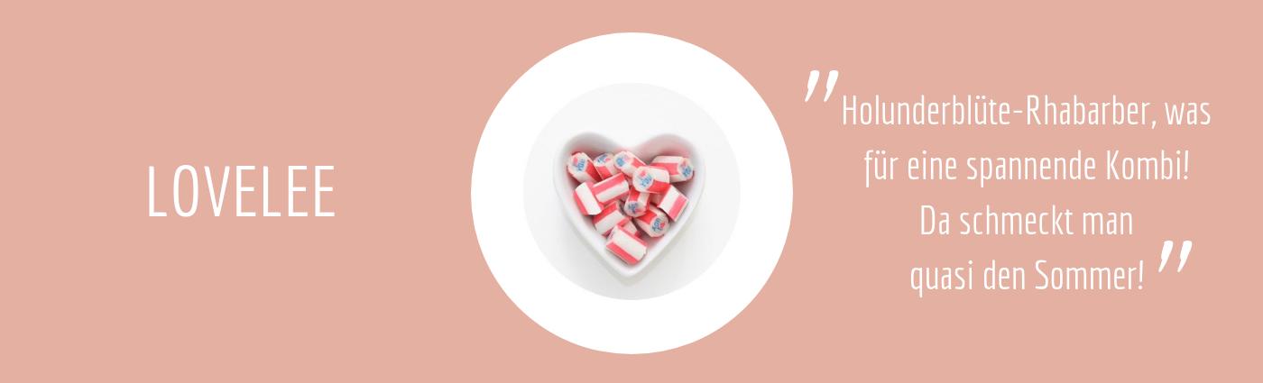 Sweet Poppet I-love-you-Bonbons Geschmacksbeschreibung