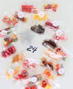 Sweet Poppet Adventskalender Bonbons 24