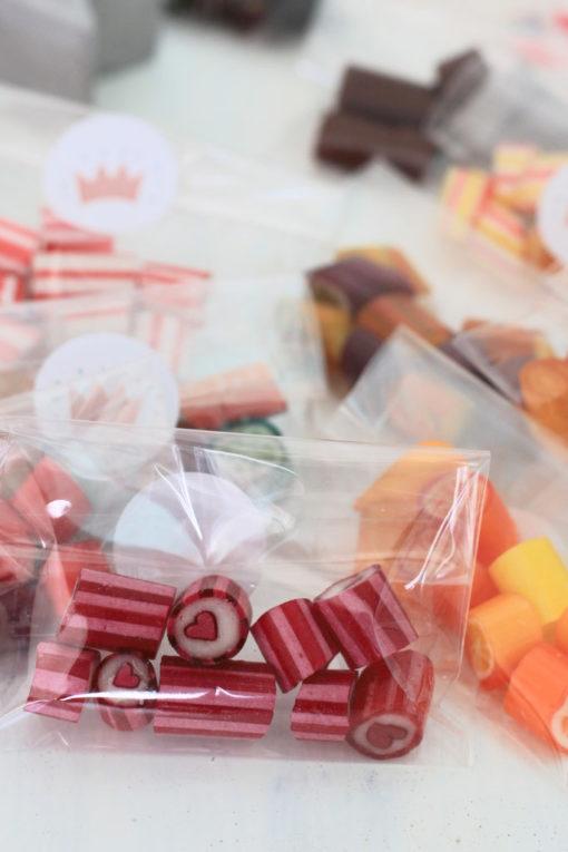 Sweet Poppet Adventskalender-Bonbons Herz-Bonbons in Tüte