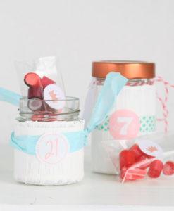 Sweet Poppet Adventskalender-Verpackung-Idee