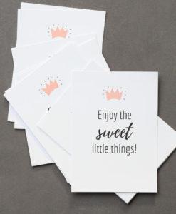 Postkarten-Set von Sweet Poppet zum Verschenken