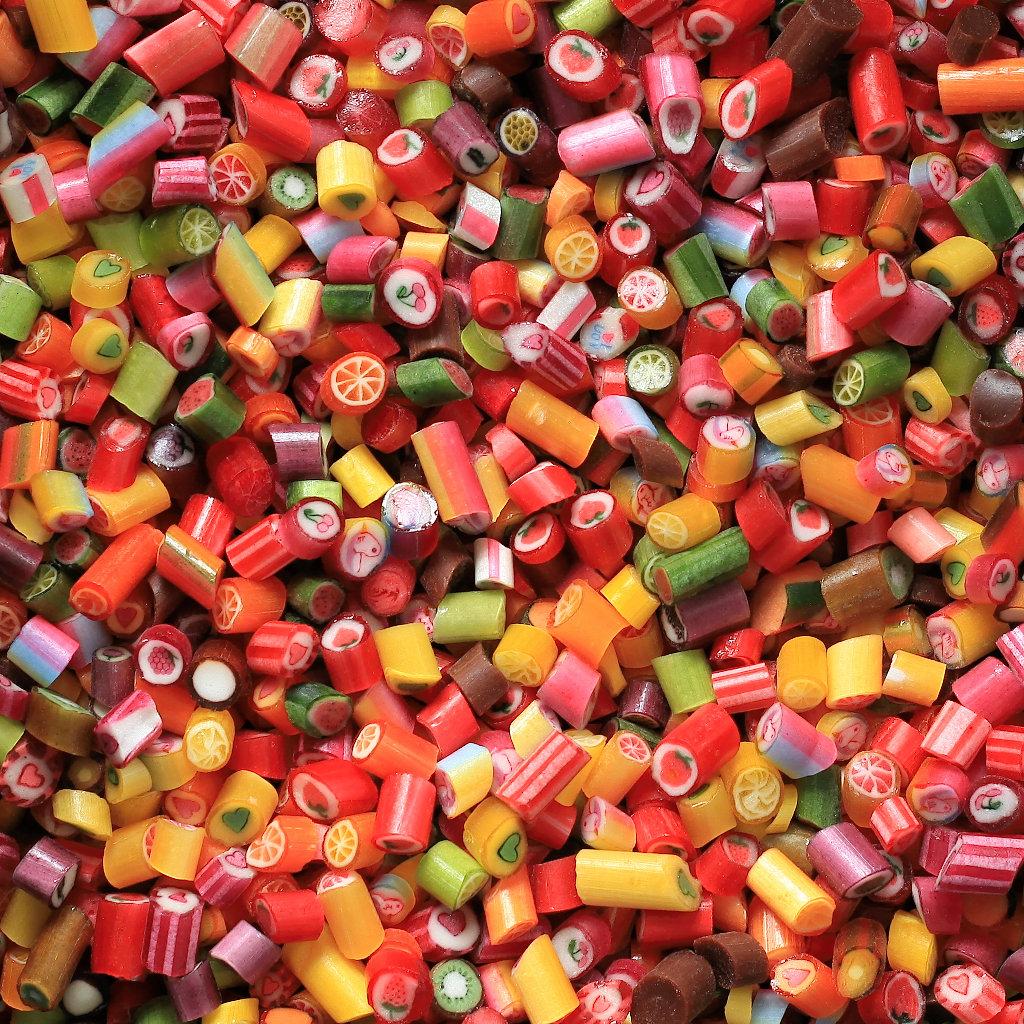 Sweet Poppet Bonbonsorten bunt